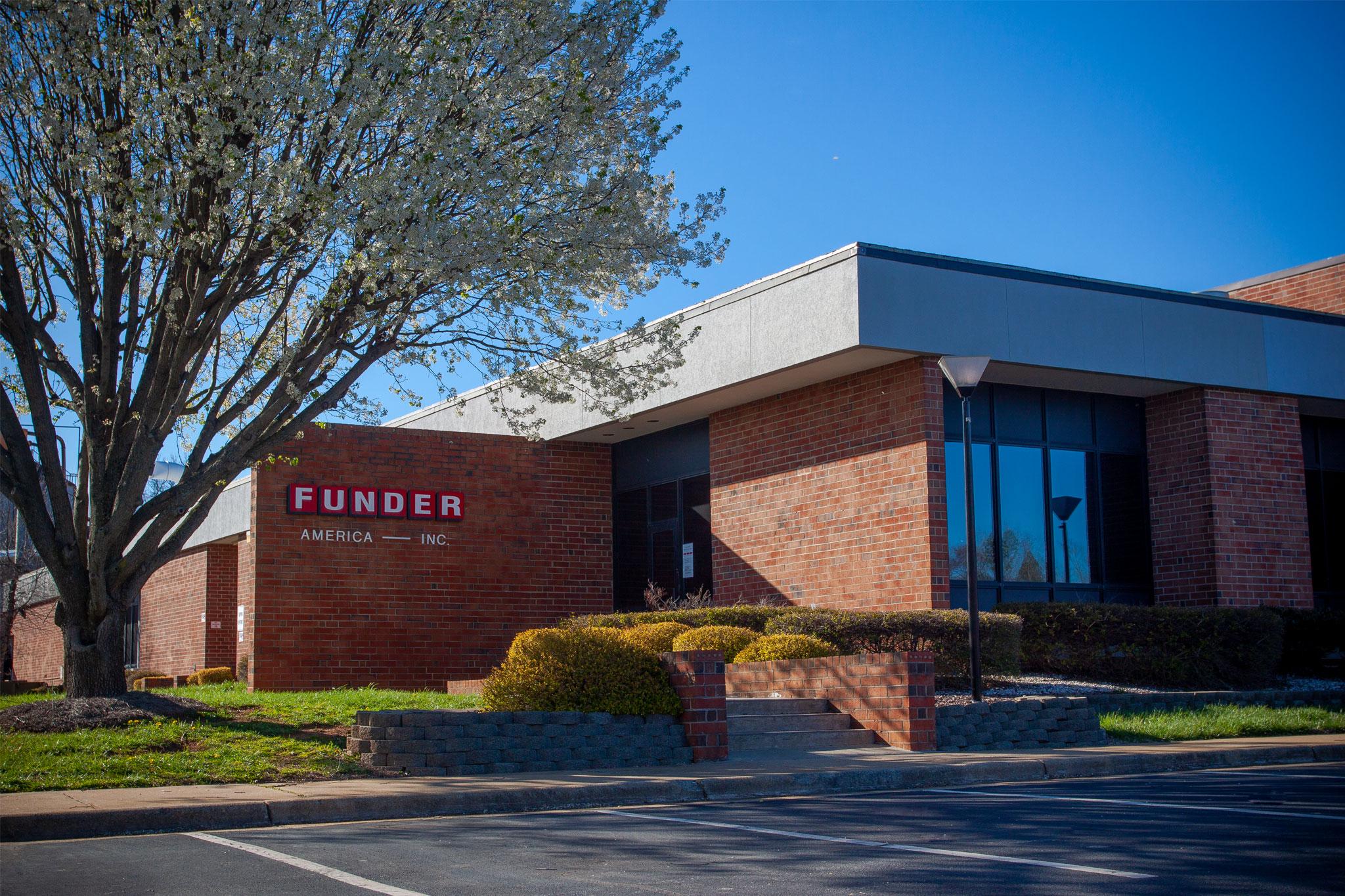 funder america headquarters, mocksville, nc